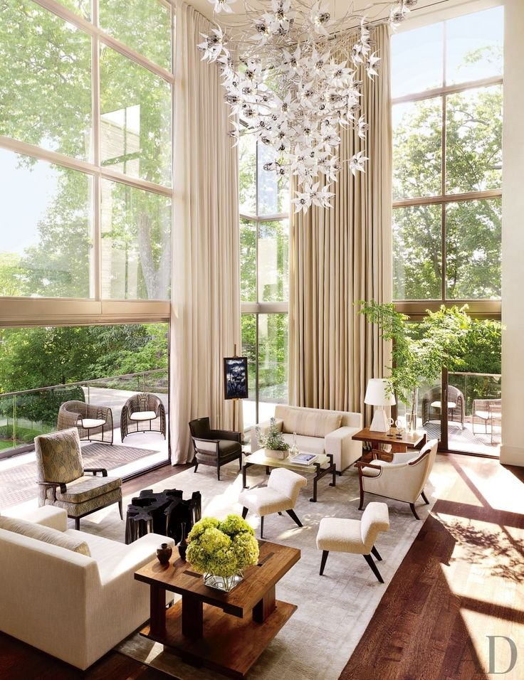 Contemporary Living Room By McAlpine Booth U0026 Ferrier Interiors And DA|AD In  Nashville,