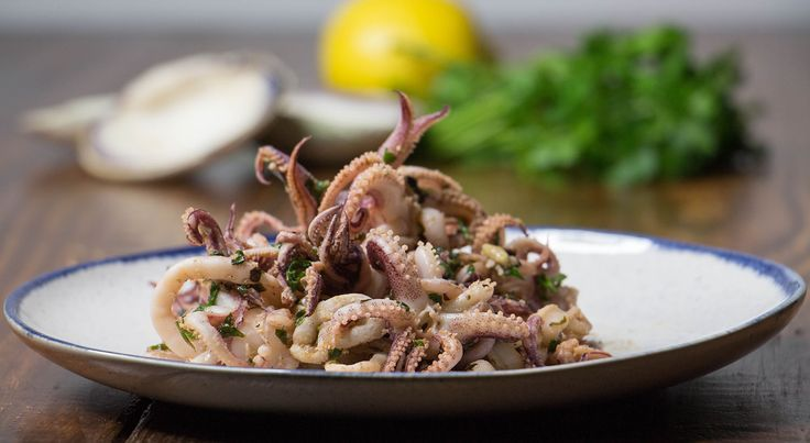 Get the full recipe here for our Sautéed Garlic Calamari. Not only that but you'll get the full nutritional information breakdown.