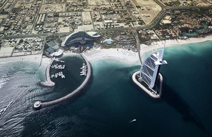 Mi Moleskine Arquitectónico: BURJ AL ARAB, EL SÍMBOLO DE DUBAI