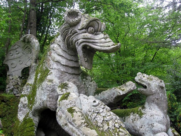 This is most definitely Ancient Disney... - The Park of Monsters, Bomarzo, Italy