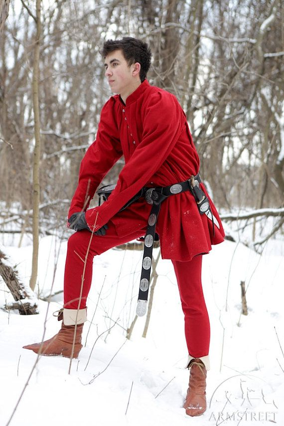 Renaissance Mens Wool Jacket ren doublet medieval by armstreet, $340.00