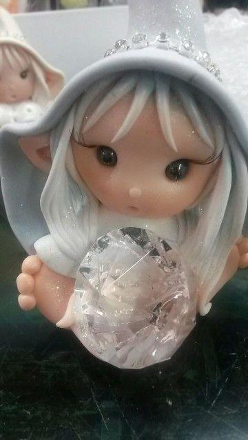 Elfo diamante .... Luce Di Maggio per Nuvole di Panna