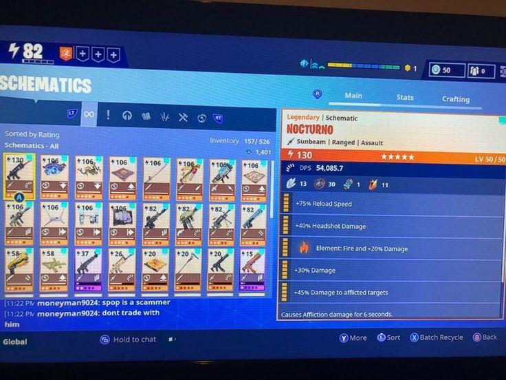 fortnite account microsoft xbox one  fortnite xbox one