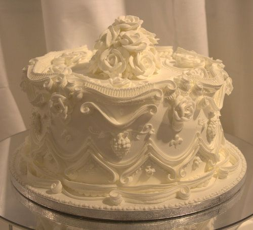 "British Royal Wedding Cakes: Replica Tier Of ""Victoria And Albert's"" Wedding Cake"