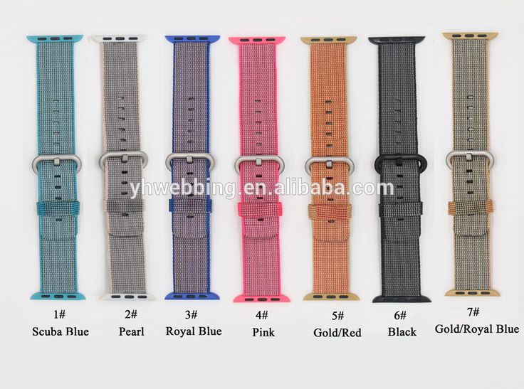 YH70 woven nylon watch strap for apple watch band 42 mm 38 mm wrist braclet belt fabric-like watchband for iwatch 2/1/Edition