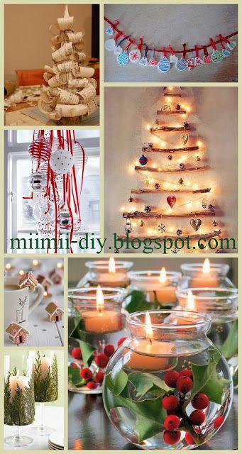 MiiMii - rękodzieło dla mamy i córki.: Jak zrobić świąteczne ozdoby za parę groszy - czas...