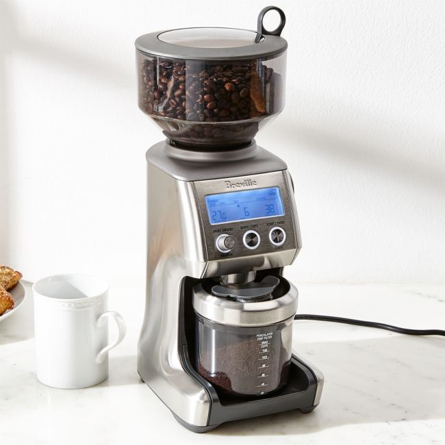 Breville Smart Grinder Pro Reviews Crate And Barrel Coffee Accessories Coffee Grinder Breville