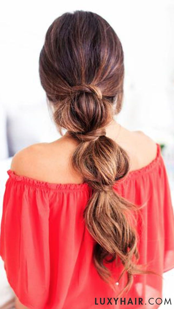 3 Lazy Hairstyles For Lazy Days Thick Hair Styles Long Hair Styles Hair Styles
