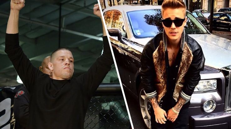 Nate Diaz's Next Fight May Be With Justin Bieber!