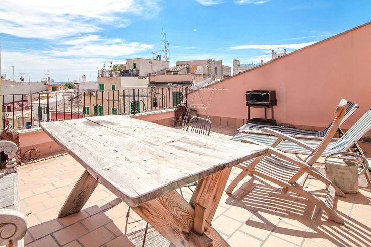 Apartment with fantastic terrace in the middle of Santa Catalina #mallorca #apartment #realestate #SantaCatalina #property