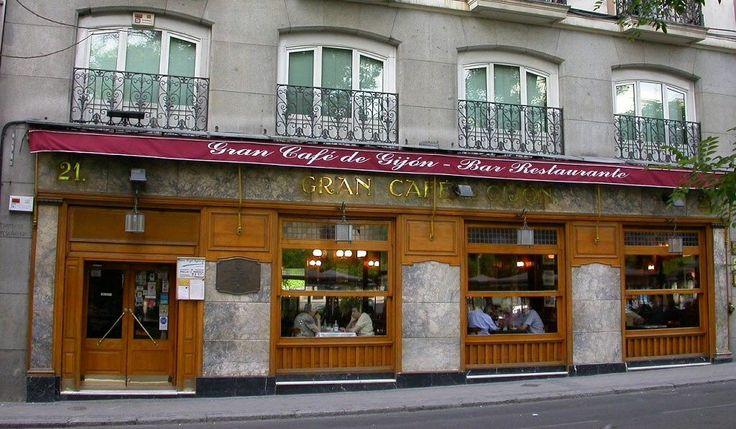 Café Gijón, Madrid