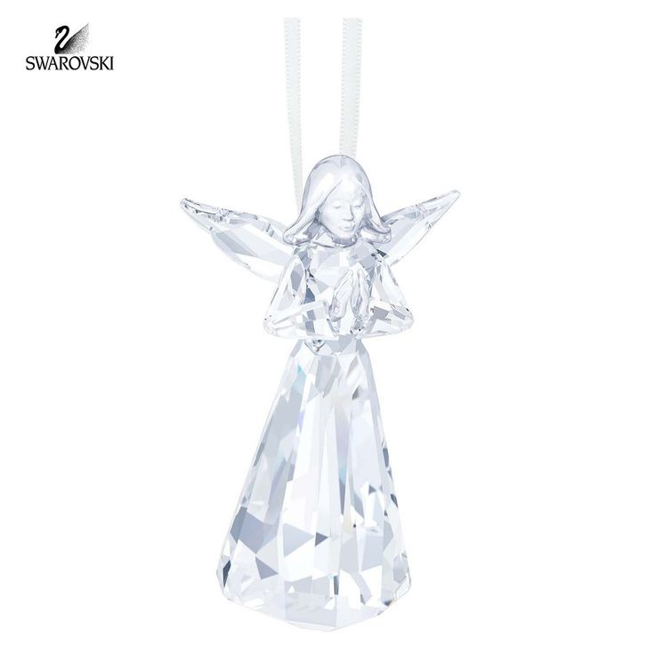 Swarovski 2000 Christmas Ornament Part - 27: Swarovski Crystal Christmas Ornament ANGEL ORNAMENT 2015 #5135833