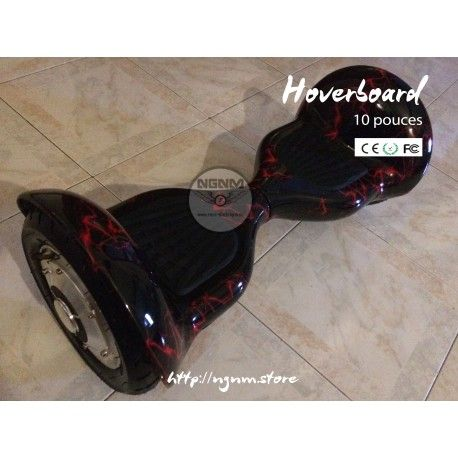 #hoverboard Hoverboard 10 pouces  - Batterie li-thium nouvelle génération..  - Batterie interchangeable - Roue gonflable très pratique pour les routes, tout chemin, dénivelé ou freestyle. - Normes CE, FCC, ROHS, IP54