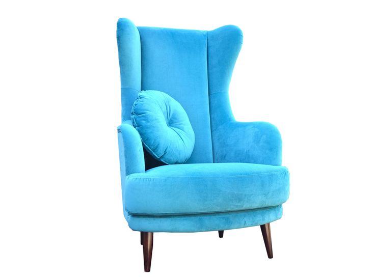 Fotel Uszatek Twój komfortowy przyjaciel dostępny w różnych kolorach i materiałach http://gotowewnetrza.pl/sklep/fotel-uszatek/