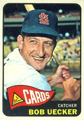 1965 Topps Bob Uecker #519 Baseball Card