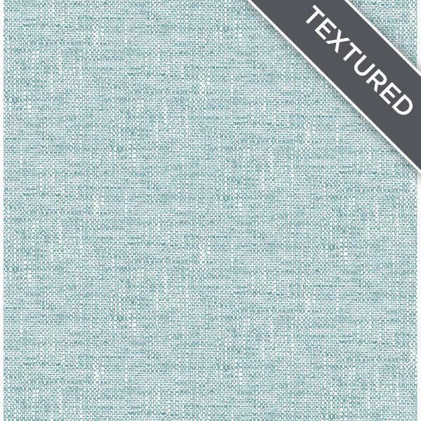 Aqua Poplin Texture Peel Stick Wallpaper Peel And Stick Wallpaper Wallpaper Textured Wallpaper