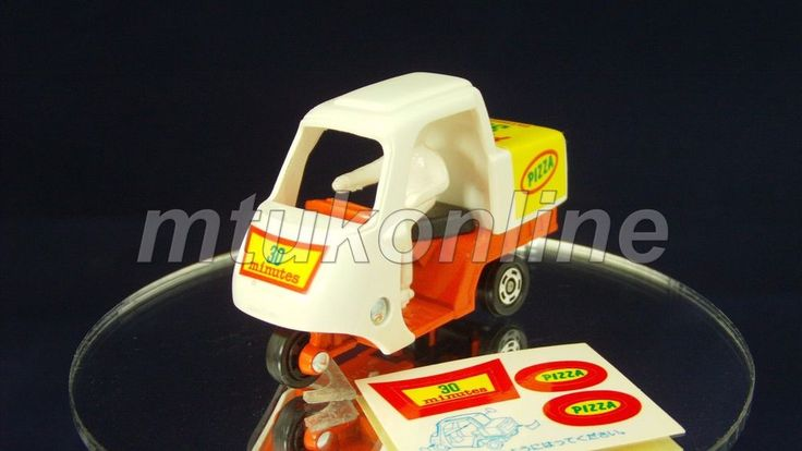 TOMICA 082B PIZZA DELIVERY BIKE | JAPAN | 082B-1 | FIRST | EARLY BOX