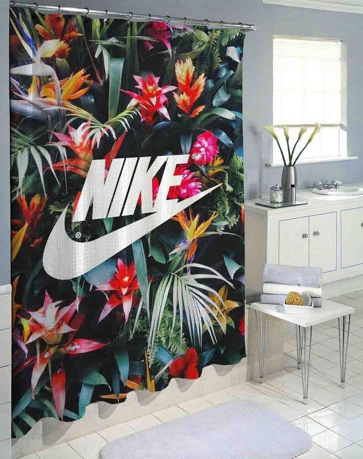 "Hot Nike Floral Logo High Quality Custom Shower Curtain 60""x72"" #Unbranded #Modern #fashion #Style #custom #print #pattern #modern #showercurtain #bathroom #polyester #cheap #new #hot #rare #best #bestdesign #luxury #elegant #awesome #bath #newtrending #trending #bestselling #sell #gift #accessories #fashion #style #women #men #kid #girl #birthgift #gift #custom #love #amazing #boy #beautiful #gallery #couple #bestquality #nike #justdoit #logo #floral #flower"