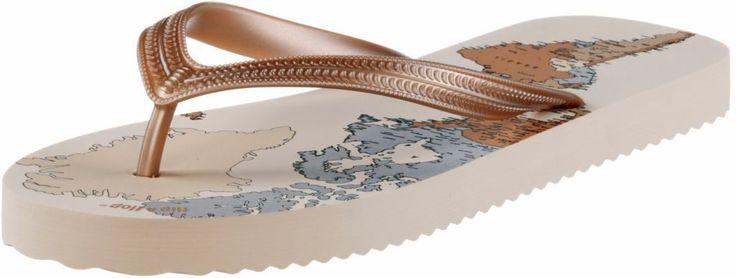 #Flip #Flop #Original #World #Zehensandalen #Damen #beige/allover
