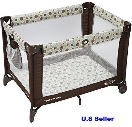 Graco Pack n Play Playard, Aspery Toddle Crib Travel Folding Bed Infant | Baby, Baby Gear, Playpens & Play Yards | eBay!