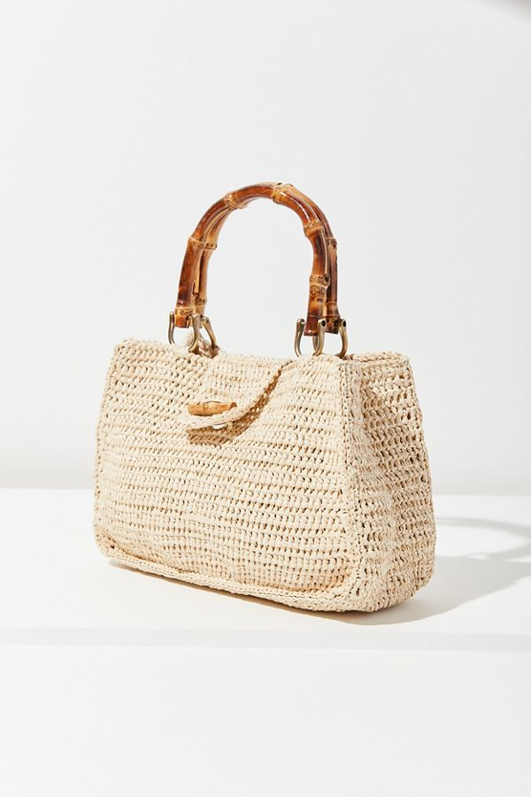 b9ceff2f Sally Straw + Bamboo Handle Bag in 2019 | Wear2Shine Bags | Bags ...