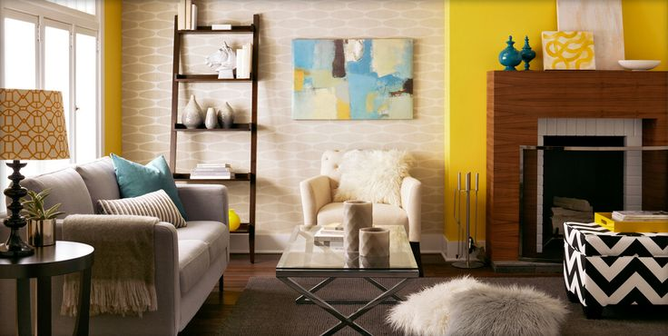 Do you have a yellow accent wall in your home? #Target #home