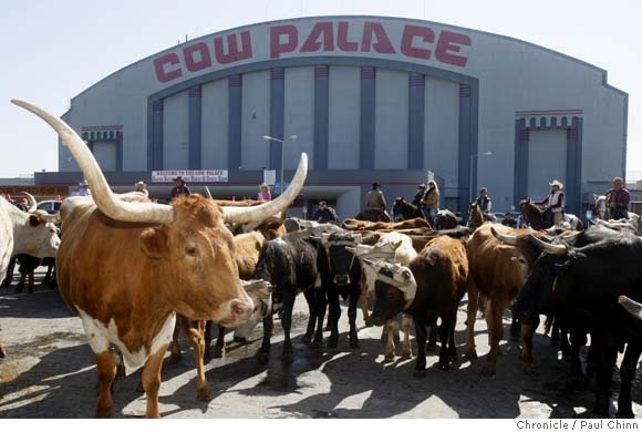 The Cow Palace - Daly City,California.  Been to many events and concerts at the Cow Palace