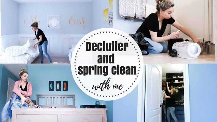 DECLUTTER WITH ME   MOTIVATION   SPRING CLEANING  Nesting Story