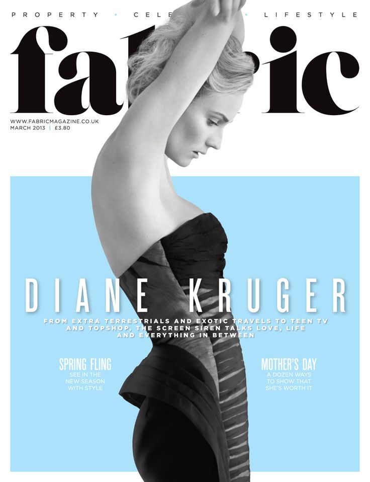 Fabric, March 2013, Diane Kruger