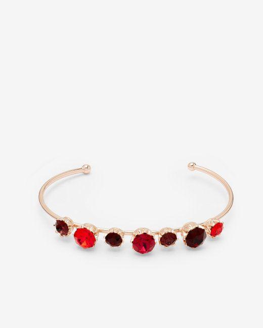 Crystal cuff - Dark Red | Jewellery | Ted Baker NEU