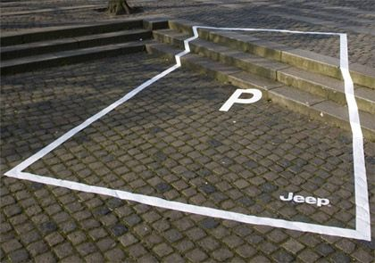 More clever outdoor advertising.