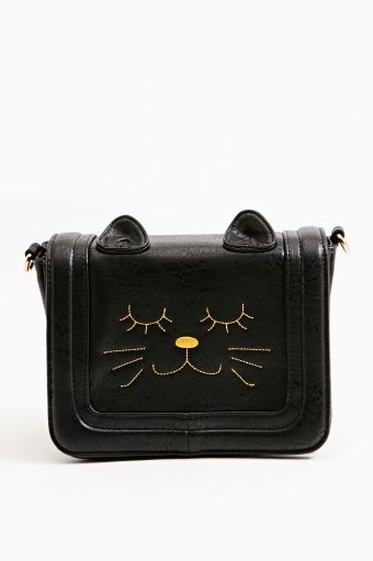 Cat Nap Crossbody Bag