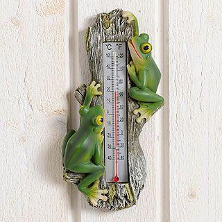 Lämpömittari Sammakot