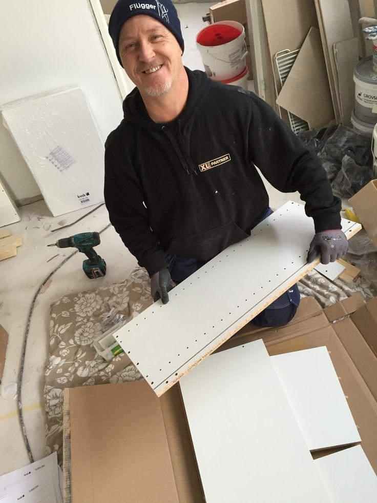 XL Byggpartner hantverkare jobbar alla dagarna veckan