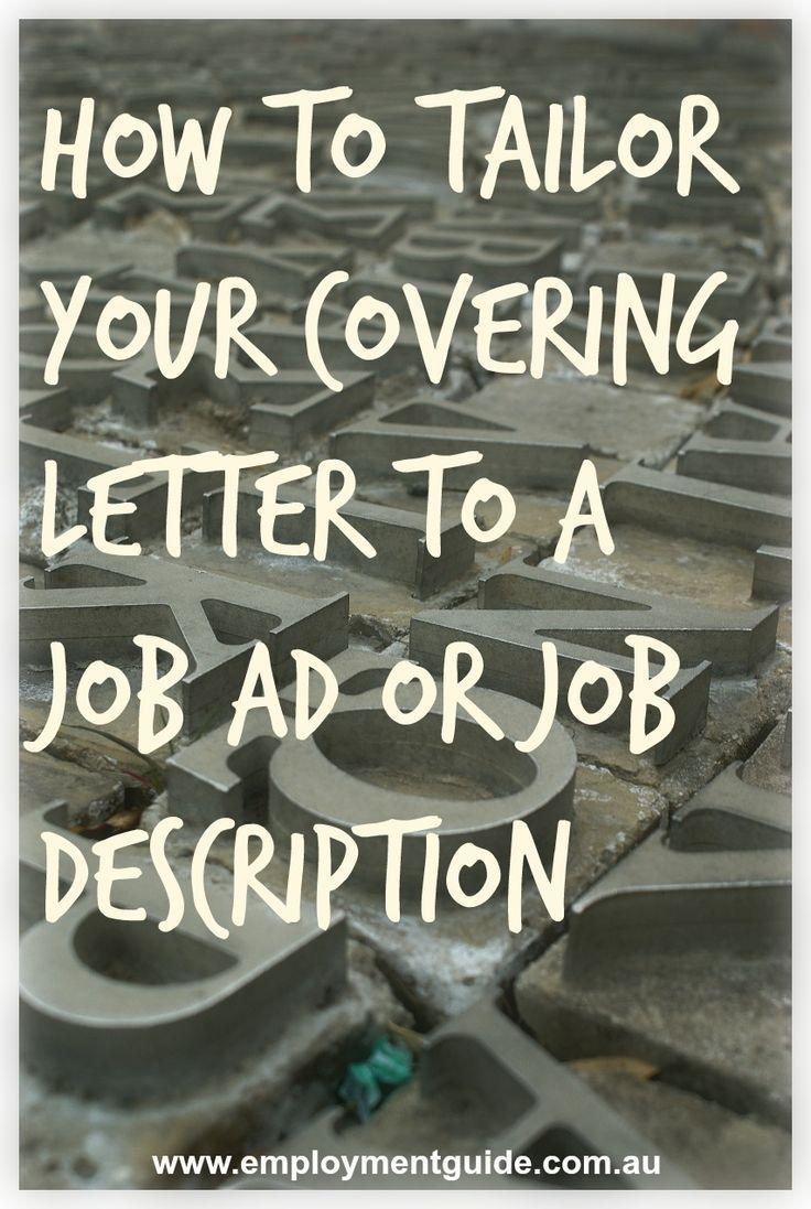 petition cover letter%0A best images about cover letter pinterest how you tailor your covering job  description