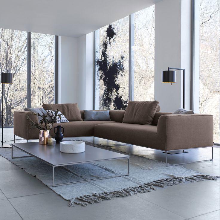 Lounge ecksofa  COR MELL Lounge Ecksofa, Armlehne links & rechts | Living ...