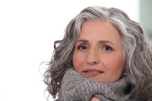 Grey Hair Fashion