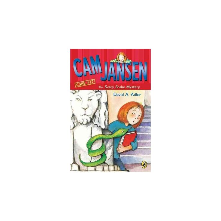 Cam Jansen and the Scary Snake Mystery ( Cam Jansen Adventure) (Paperback)