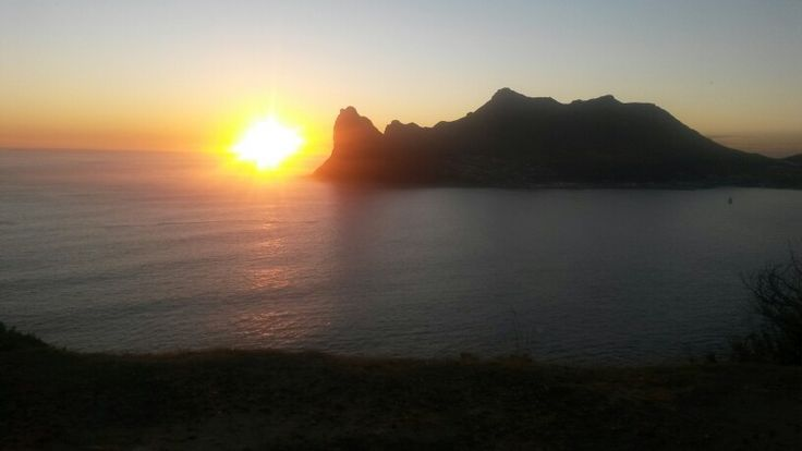 Hout Bay Golden Sunset