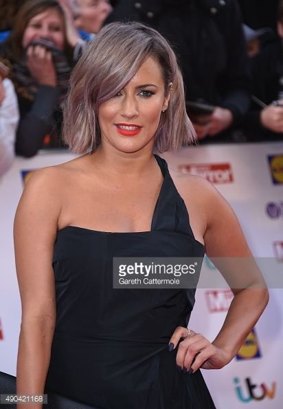 Caroline Flack attends the Pride of Britain awards at The Grosvenor House Hotel on September 28 2015 in London England