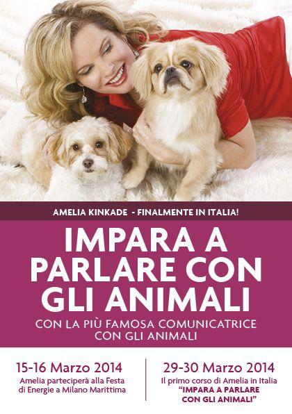 Amelia Kinkade in Italy! #ameliakinkade #energiemagazine #parlareconglianimali