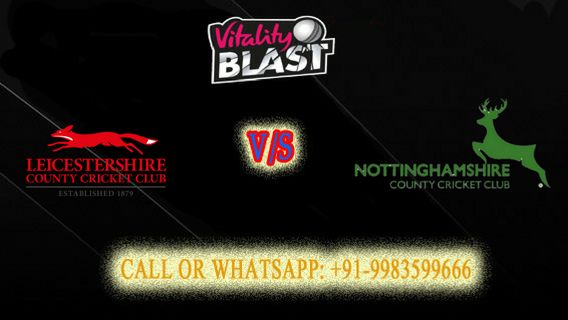 Nottinghamshire vs Leicestershire Book Today Match Prediction for