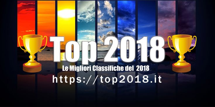 Le migliori classifiche del 2018!