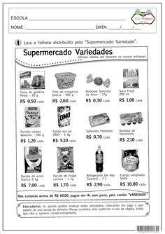 SOS PROFESSOR-ATIVIDADES: Fazendo compras