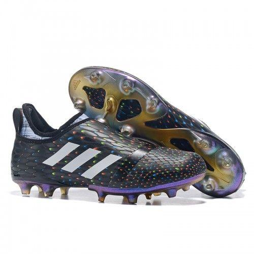Adidas Glitch Innershoes FG черный Фиолетовый футбольные бутсы для игры на твердом грунте
