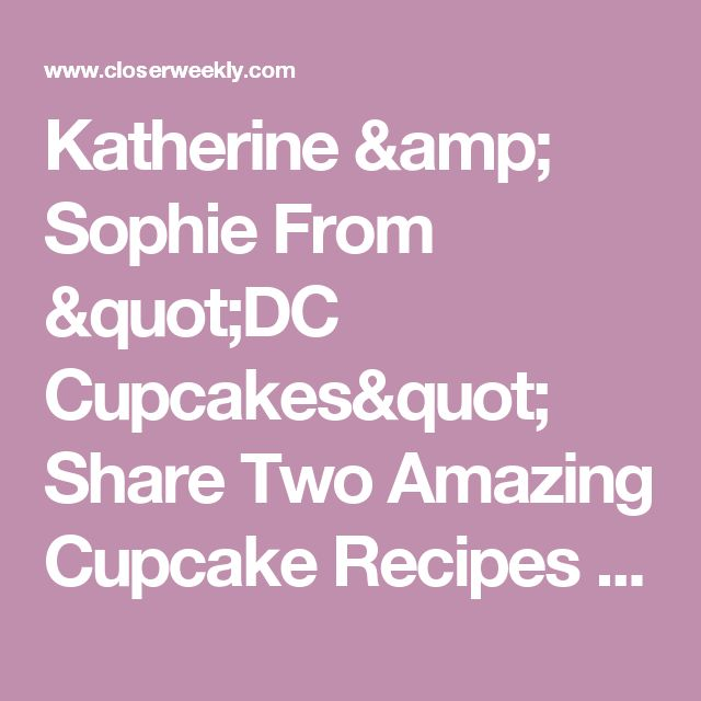 100+ Dc Cupcakes Recipes On Pinterest