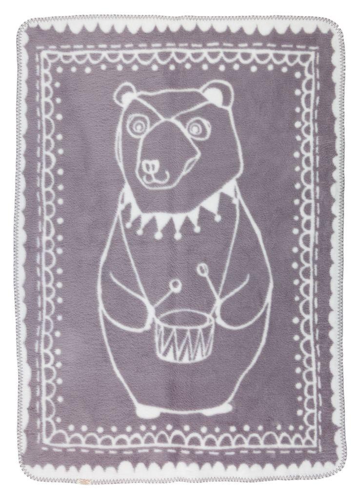 Circus Bear - Grey - Bianca e grigia