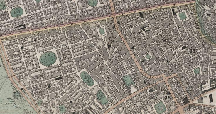 Greenwood's 1830 Map of London - Majesty Maps & Prints