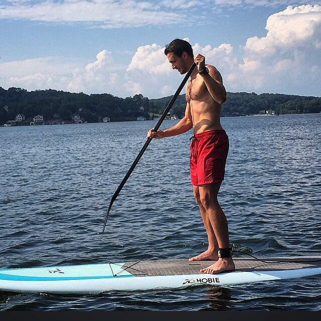 Paddle boarding for the first time during my Osteopathic resident retreat today   Who knew what a fun and strenuous core workout it is...Will definitely be recommending this one to my patients! Credit: My awesome co-resident @mariaelizabeth1987