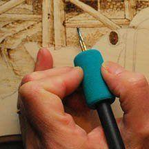 optima ball tip wood burning tool